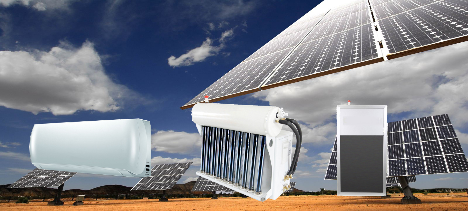 Solar thermal A/C