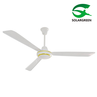 12V ACDC Rechargeable Solar Ceiling Fan with BLDC Brushless DC Motor