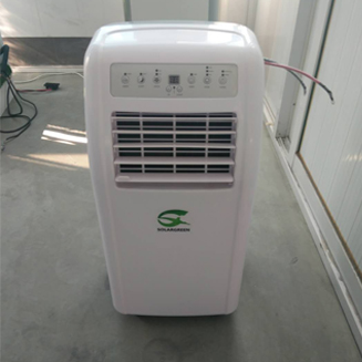 Portable type 24V/48V DC 9000btu-12000btu 100% off Grid Solar Air Conditioner with Panasonic Compressor