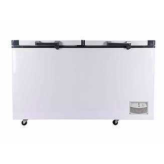 Newly launched big size more than 1000L 24V DC freezer