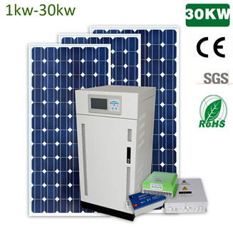 1kw-100kw off grid solar power system for home with deep cycle gel battery working 25 years