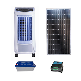 12V DC Solar Air Cooler with 30w low power consumption